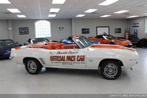 1969 Chevrolet Camaro for sale at Corvette Mike New England in Carver MA