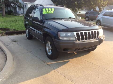 2002 Jeep Grand Cherokee for sale at Harrison Family Motors in Topeka KS
