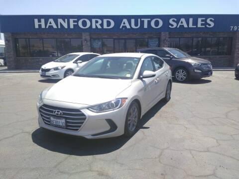 2018 Hyundai Elantra for sale at Hanford Auto Sales in Hanford CA