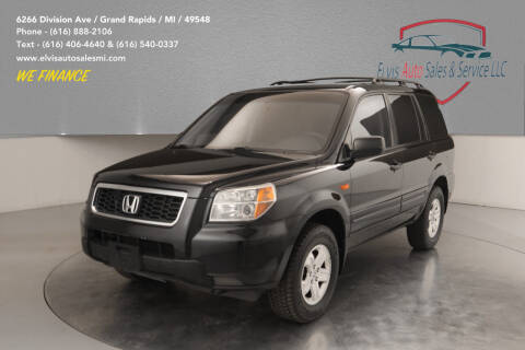 2007 Honda Pilot for sale at Elvis Auto Sales LLC in Grand Rapids MI