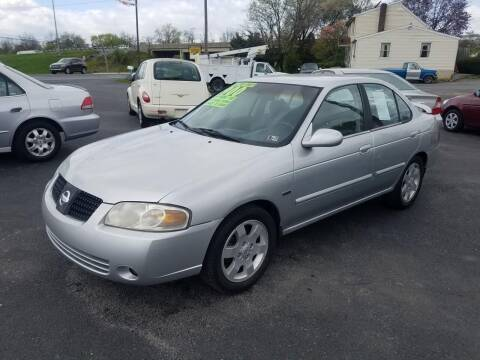 2005 Nissan Sentra for sale at Credit Connection Auto Sales Inc. CARLISLE in Carlisle PA