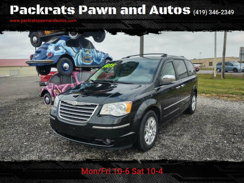 2008 Chrysler Town and Country for sale at Packrats Pawn and Autos in Defiance OH