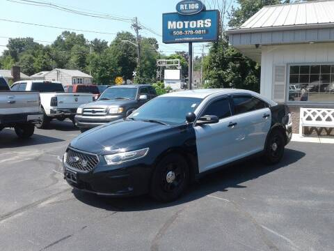 2017 Ford Taurus for sale at Route 106 Motors in East Bridgewater MA