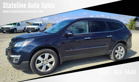 2017 Chevrolet Traverse for sale at Stateline Auto Sales in Mabel MN