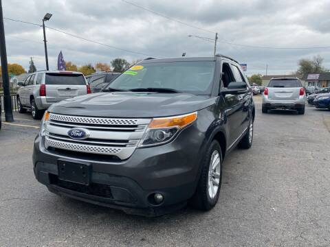 2015 Ford Explorer for sale at Billy Auto Sales in Redford MI