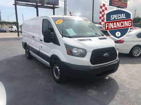 2015 Ford Transit Cargo for sale at MACHADO AUTO SALES in Miami FL