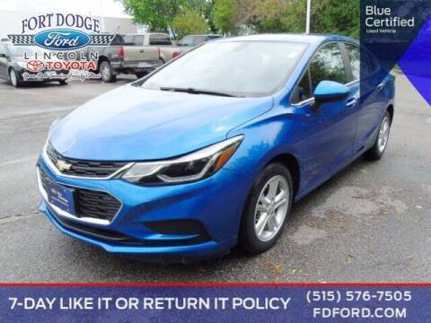 2018 Chevrolet Cruze for sale at Fort Dodge Ford Lincoln Toyota in Fort Dodge IA
