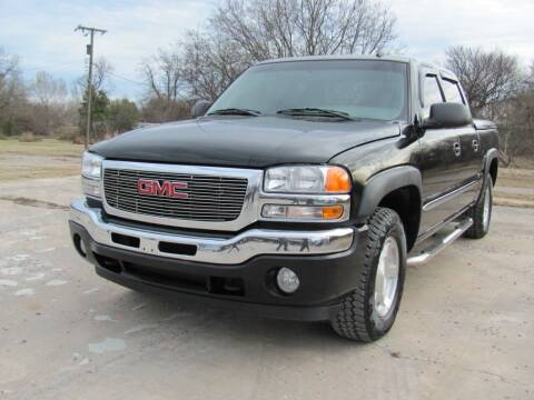 2006 GMC Sierra 1500 for sale at CANTWEIGHT CLASSICS in Maysville OK