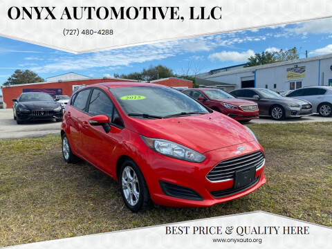 2015 Ford Fiesta for sale at ONYX AUTOMOTIVE, LLC in Largo FL