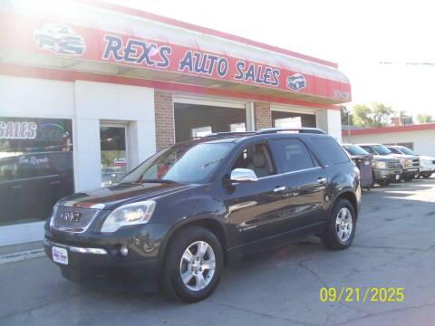 2007 GMC Acadia for sale at Rex's Auto Sales in Junction City KS