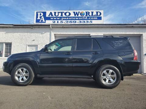 2005 Toyota 4Runner for sale at PA Auto World in Levittown PA