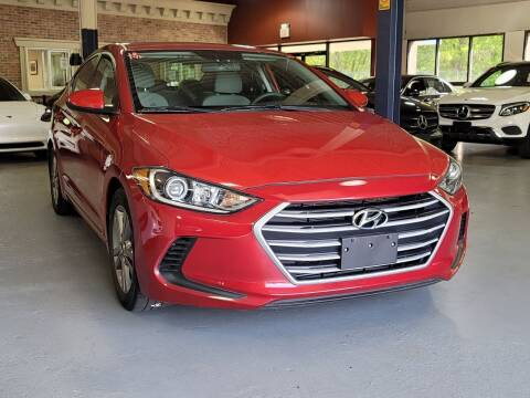2018 Hyundai Elantra for sale at AW Auto & Truck Wholesalers  Inc. in Hasbrouck Heights NJ