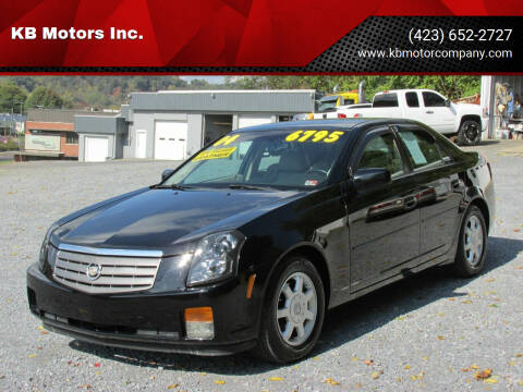 2004 Cadillac CTS for sale at KB Motors Inc. in Bristol VA