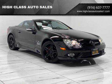 2007 Mercedes-Benz SL-Class for sale at HIGH CLASS AUTO SALES in Rancho Cordova CA