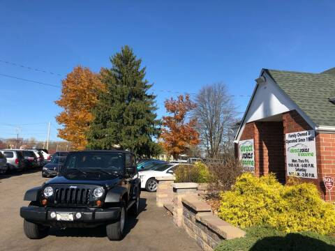 2012 Jeep Wrangler for sale at Direct Sales & Leasing in Youngstown OH