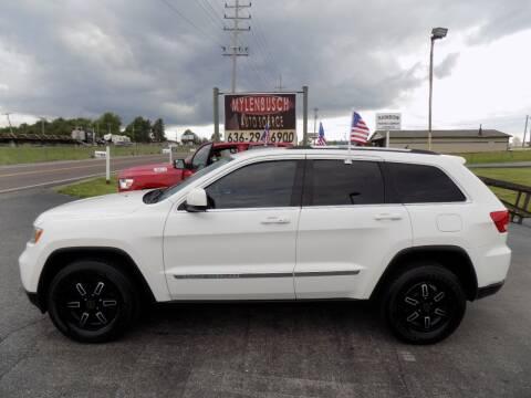 2012 Jeep Grand Cherokee for sale at MYLENBUSCH AUTO SOURCE in O` Fallon MO