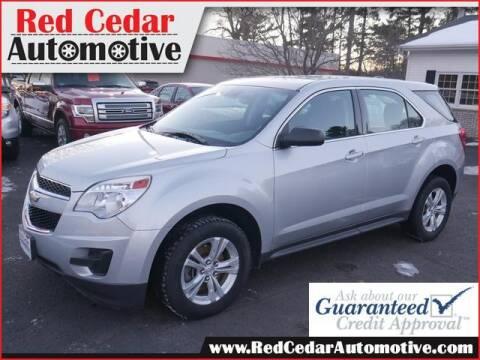 2015 Chevrolet Equinox for sale at Red Cedar Automotive in Menomonie WI