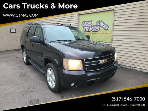 2007 Chevrolet Tahoe for sale at Cars Trucks & More in Howell MI