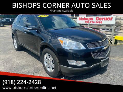 2012 Chevrolet Traverse for sale at BISHOPS CORNER AUTO SALES in Sapulpa OK