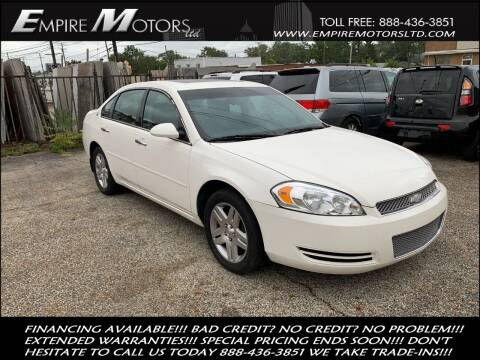 2007 Chevrolet Impala for sale at Empire Motors LTD in Cleveland OH
