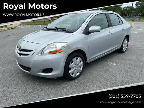2007 Toyota Yaris for sale at Royal Motors in Hyattsville MD