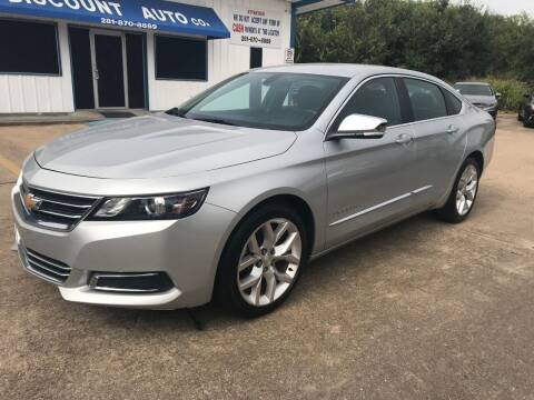 2018 Chevrolet Impala for sale at Discount Auto Company in Houston TX