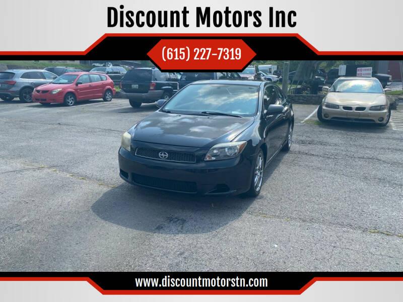 2006 Scion tC for sale at Discount Motors Inc in Nashville TN