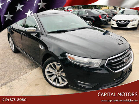 2014 Ford Taurus for sale at Capital Motors in Raleigh NC