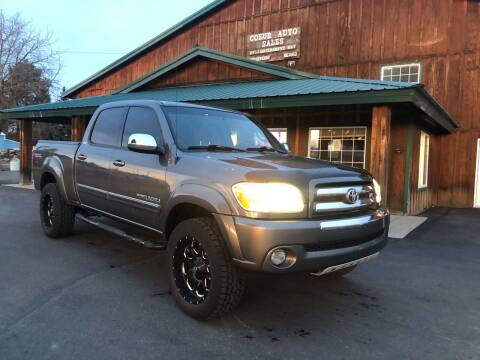 2005 Toyota Tundra for sale at Coeur Auto Sales in Hayden ID