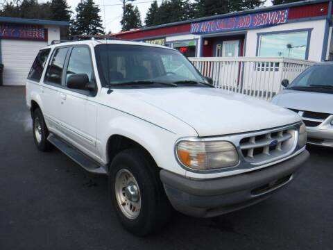 1998 Ford Explorer for sale at 777 Auto Sales and Service in Tacoma WA