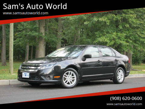 2010 Ford Fusion for sale at Sam's Auto World in Roselle NJ