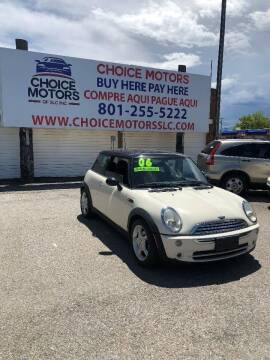 2006 MINI Cooper for sale at Choice Motors of Salt Lake City in West Valley  City UT