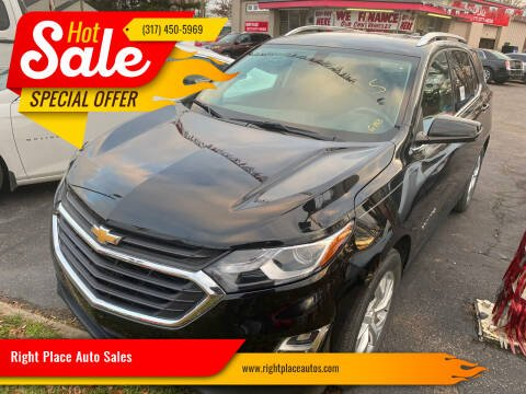2018 Chevrolet Equinox for sale at Right Place Auto Sales in Indianapolis IN