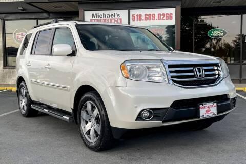 2014 Honda Pilot for sale at Michaels Auto Plaza in East Greenbush NY