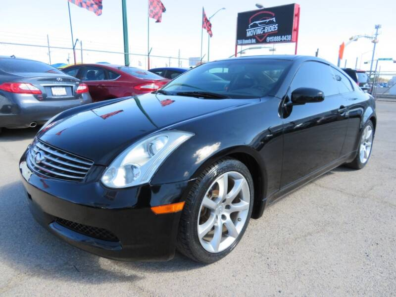 2006 Infiniti G35 for sale at Moving Rides in El Paso TX