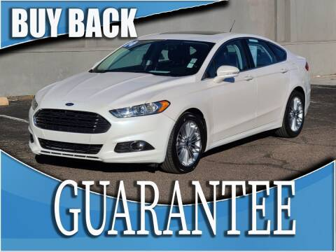 2014 Ford Fusion for sale at Reliable Auto Sales in Las Vegas NV