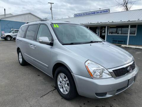 2011 Kia Sedona for sale at HACKETT & SONS LLC in Nelson PA
