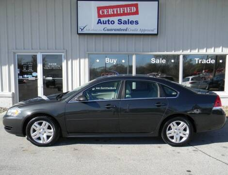 2014 Chevrolet Impala Limited for sale at Certified Auto Sales in Des Moines IA