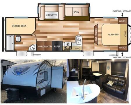 2018 Forest River Salem Cruise Lite 263BHXL for sale at S & M WHEELESTATE SALES INC - Camper in Princeton NC