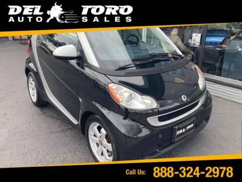 2012 Smart fortwo for sale at DEL TORO AUTO SALES in Auburn WA