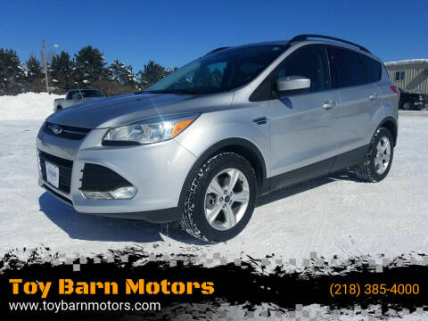 2015 Ford Escape for sale at Toy Barn Motors in New York Mills MN