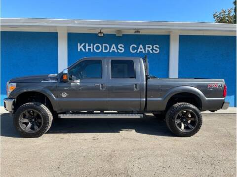 2016 Ford F-250 Super Duty for sale at Khodas Cars in Gilroy CA
