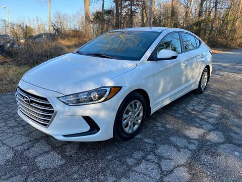 2017 Hyundai Elantra for sale at Speed Auto Mall in Greensboro NC