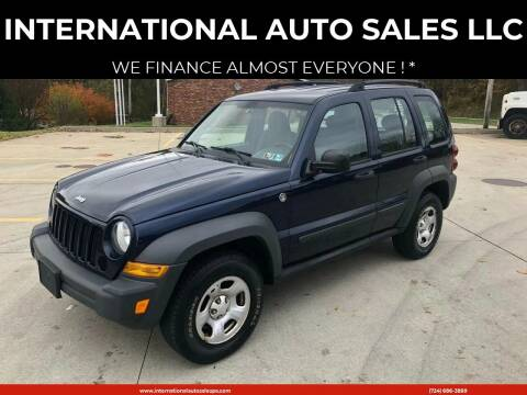 2006 Jeep Liberty for sale at INTERNATIONAL AUTO SALES LLC in Latrobe PA