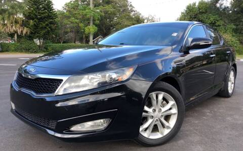 2013 Kia Optima for sale at LUXURY AUTO MALL in Tampa FL