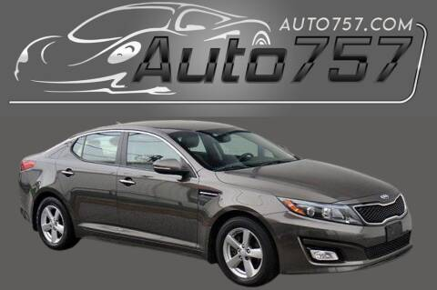 2014 Kia Optima for sale at Auto 757 in Norfolk VA