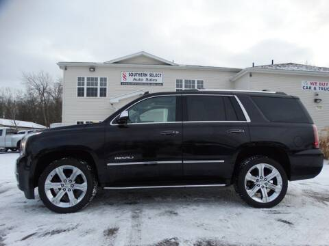 2018 GMC Yukon for sale at SOUTHERN SELECT AUTO SALES in Medina OH