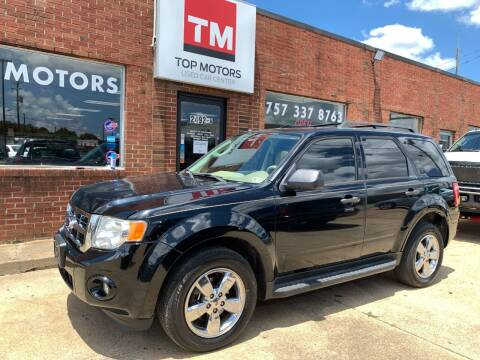 2012 Ford Escape for sale at Top Motors LLC in Portsmouth VA