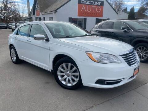 2013 Chrysler 200 for sale at Discount Auto Brokers Inc. in Lehi UT