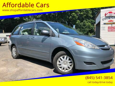 2008 Toyota Sienna for sale at Affordable Cars in Kingston NY